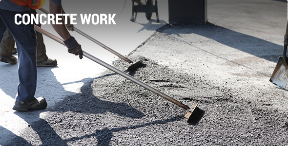 Paving Contractor - Concrete Work Projects
