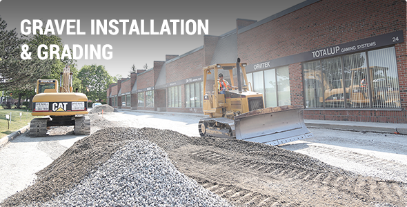 Paving Contractor - Gravel Installation & Grading Projects