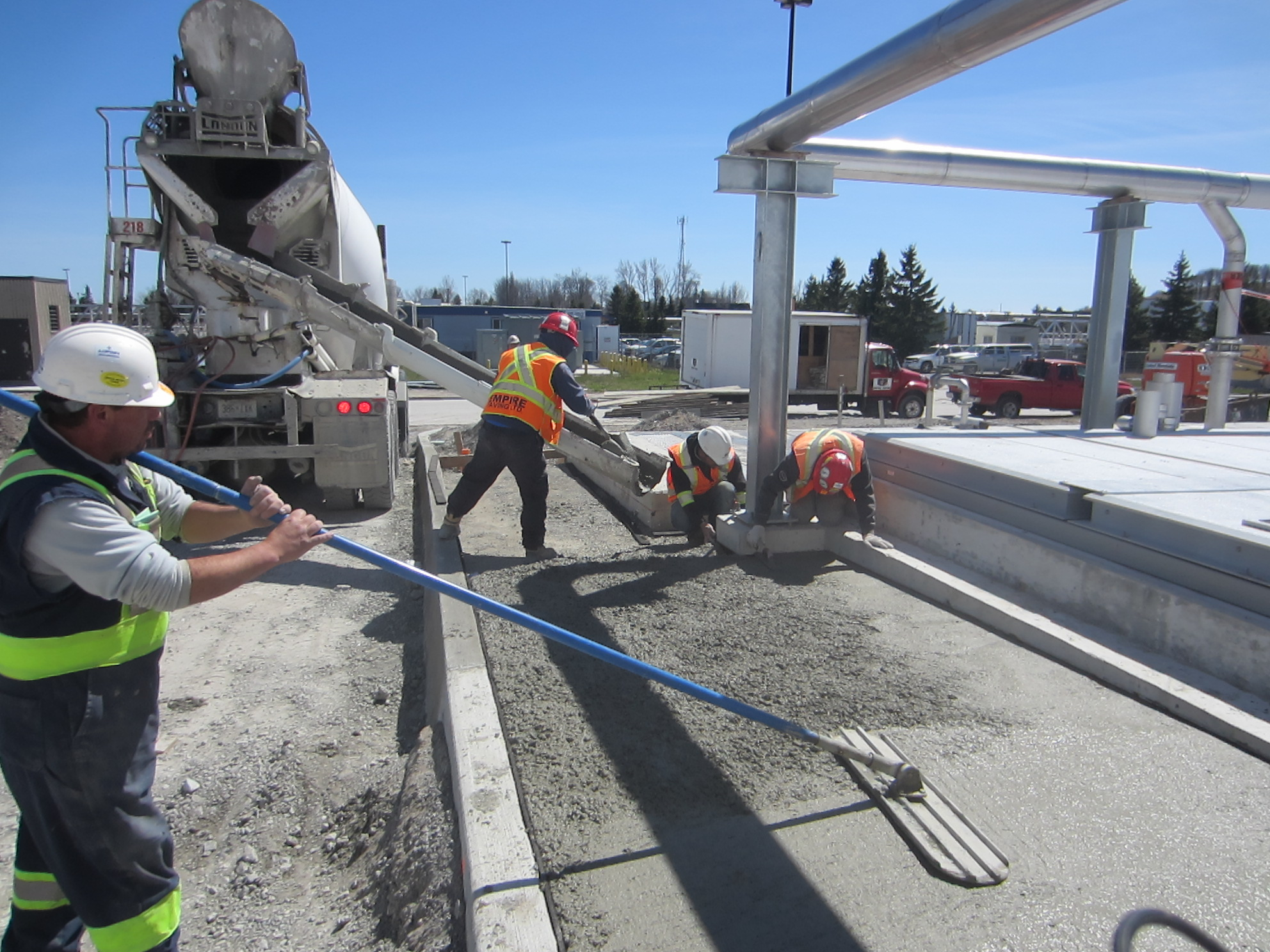 Concrete Pavement Contractor - Project Gallery Toronto